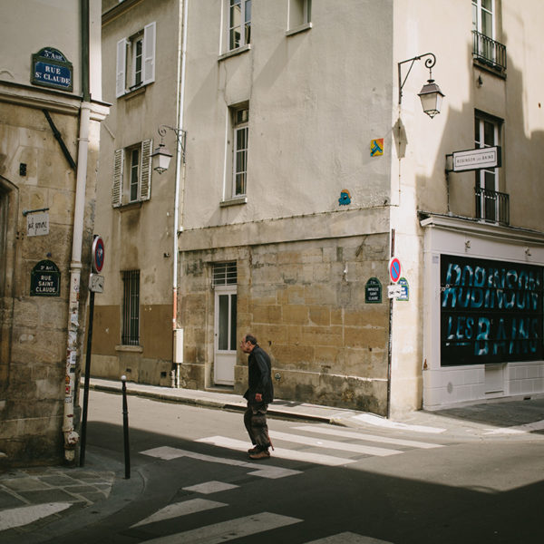 Streets near Monmarte photo