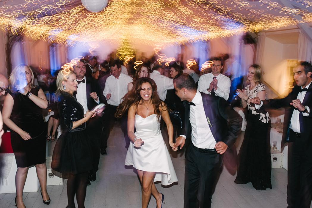 Algerian Belgian Wedding party