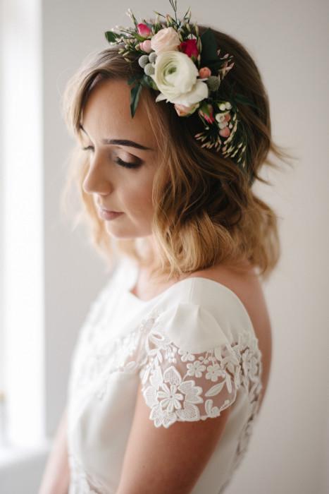Boho bride Belfast
