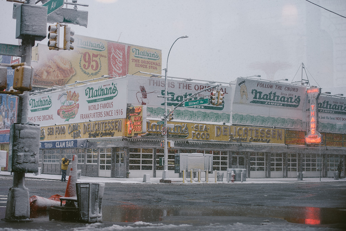 nathan's famous delicatessen nyc coney island