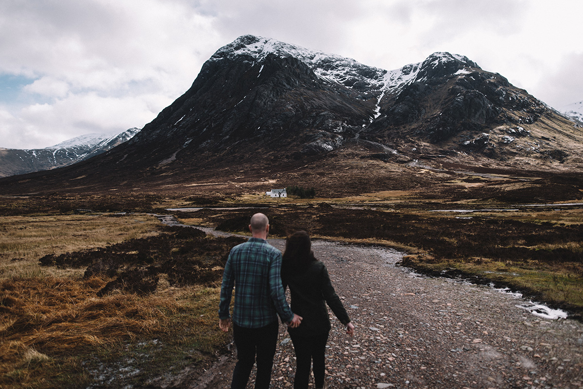 Walk to the summit, Glencoe