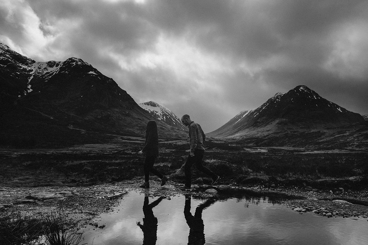 Reflections of Glencoe, Scotland
