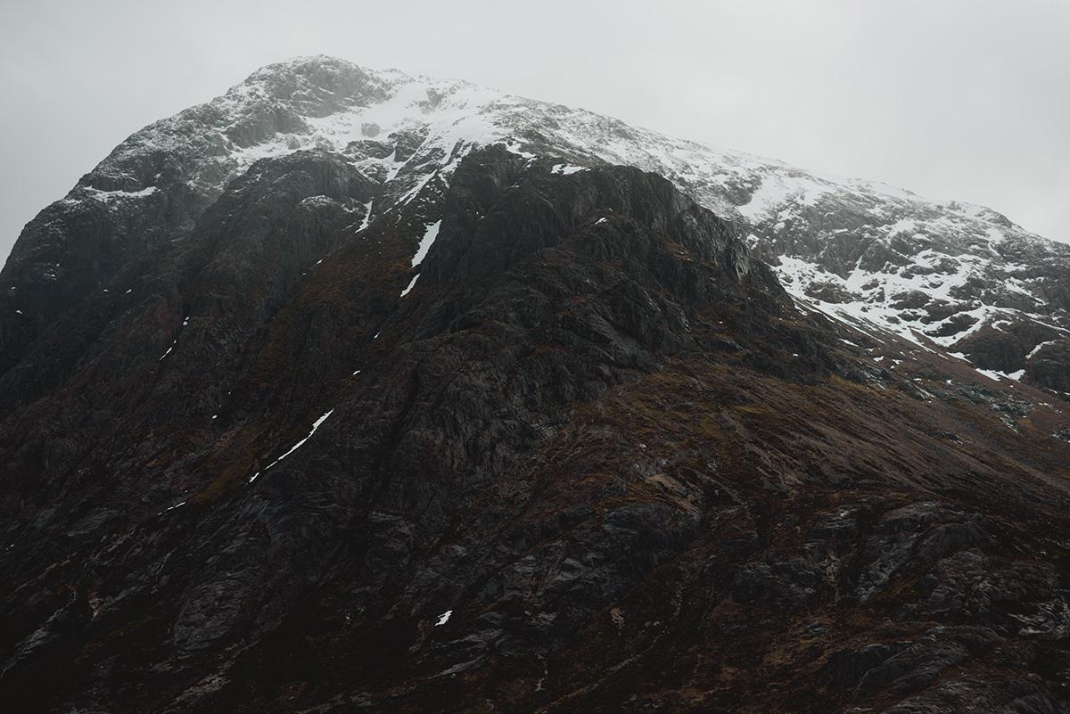Mountain top, Glencoe, Scotland
