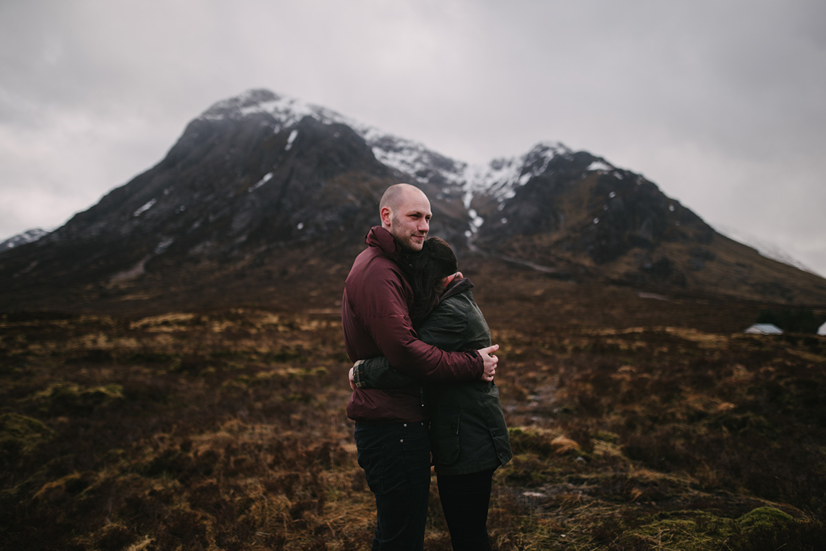 Together session, Glencoe, Scotland