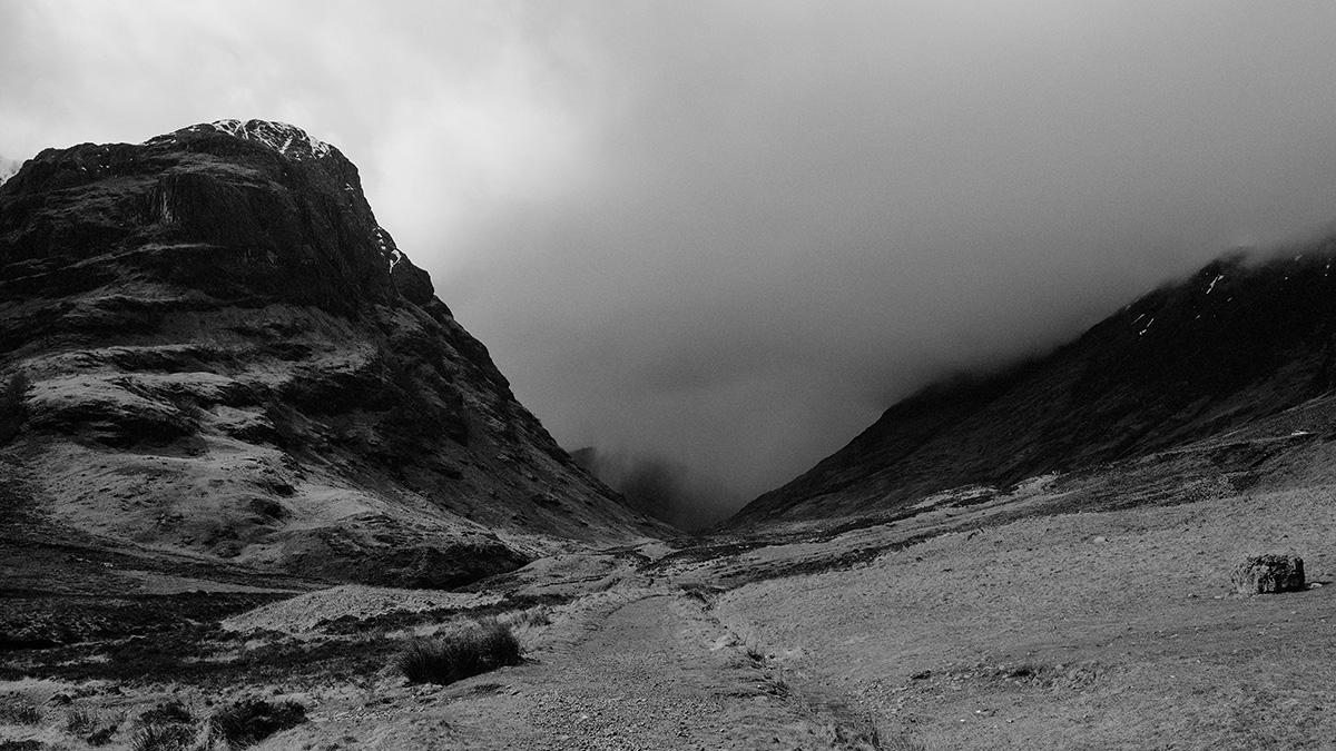 Storm rolling in Glencoe