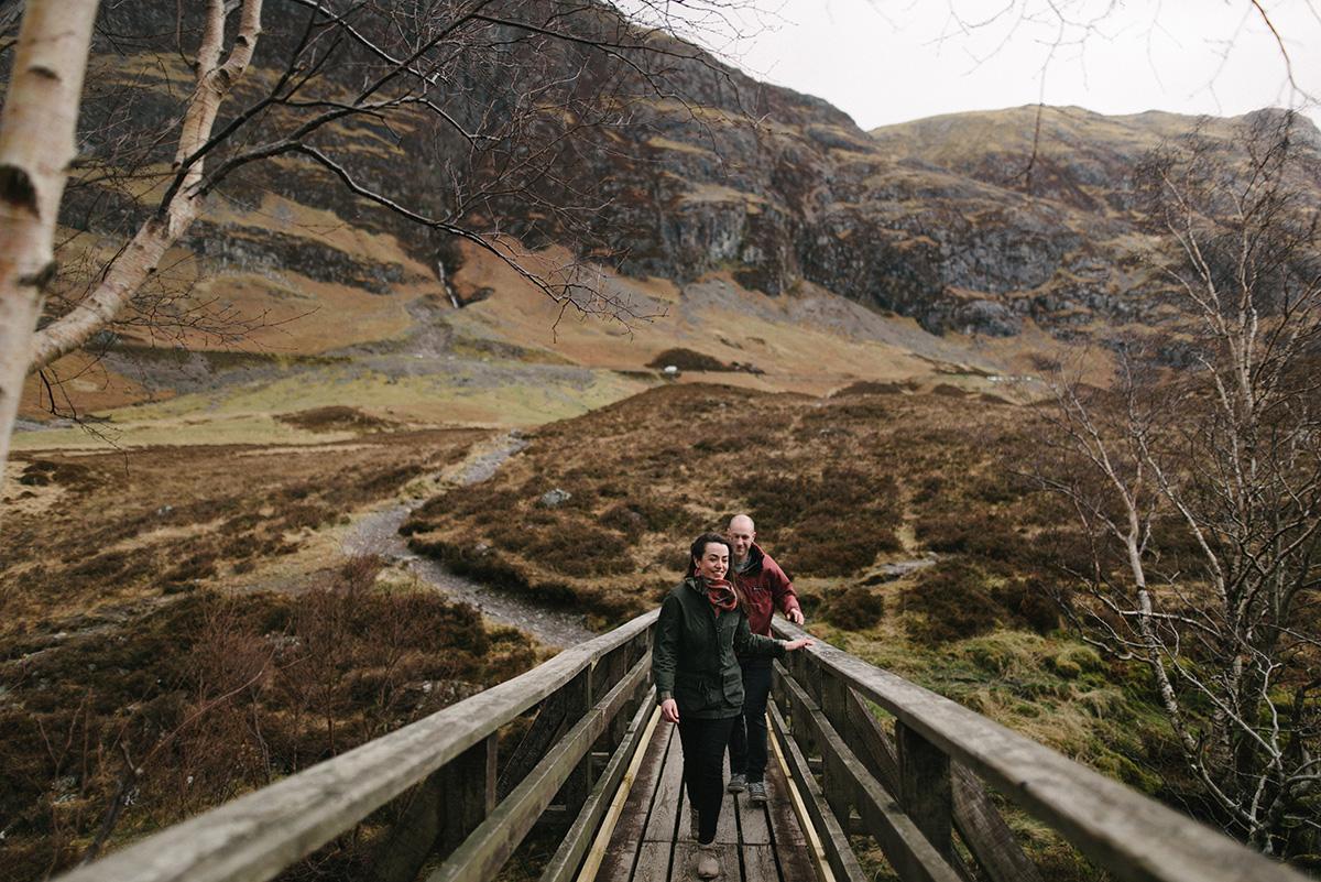 Bridge walk Glencoe