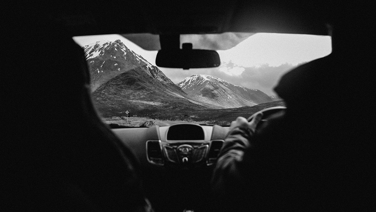 Drive to adventure session