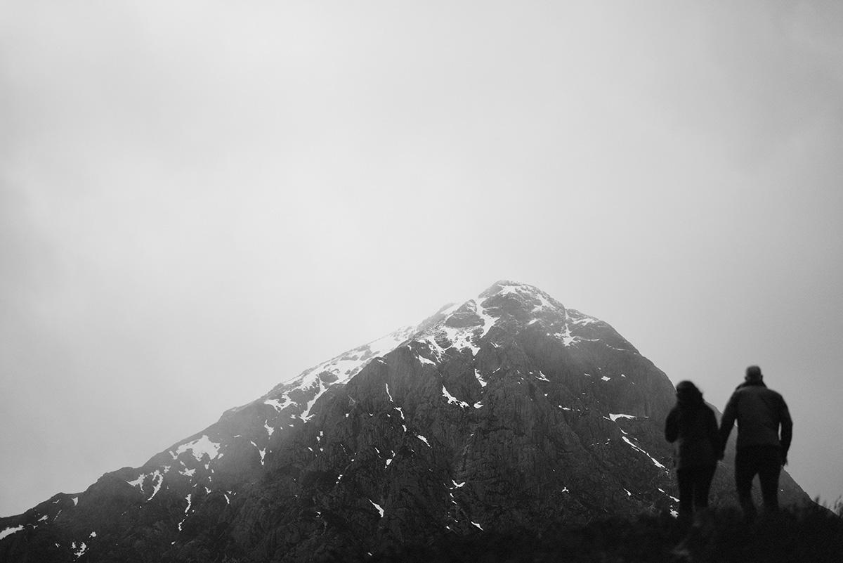 Taking in the view, Glencoe
