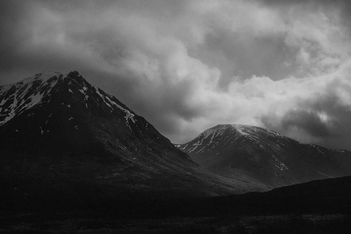 glencoe mountain light