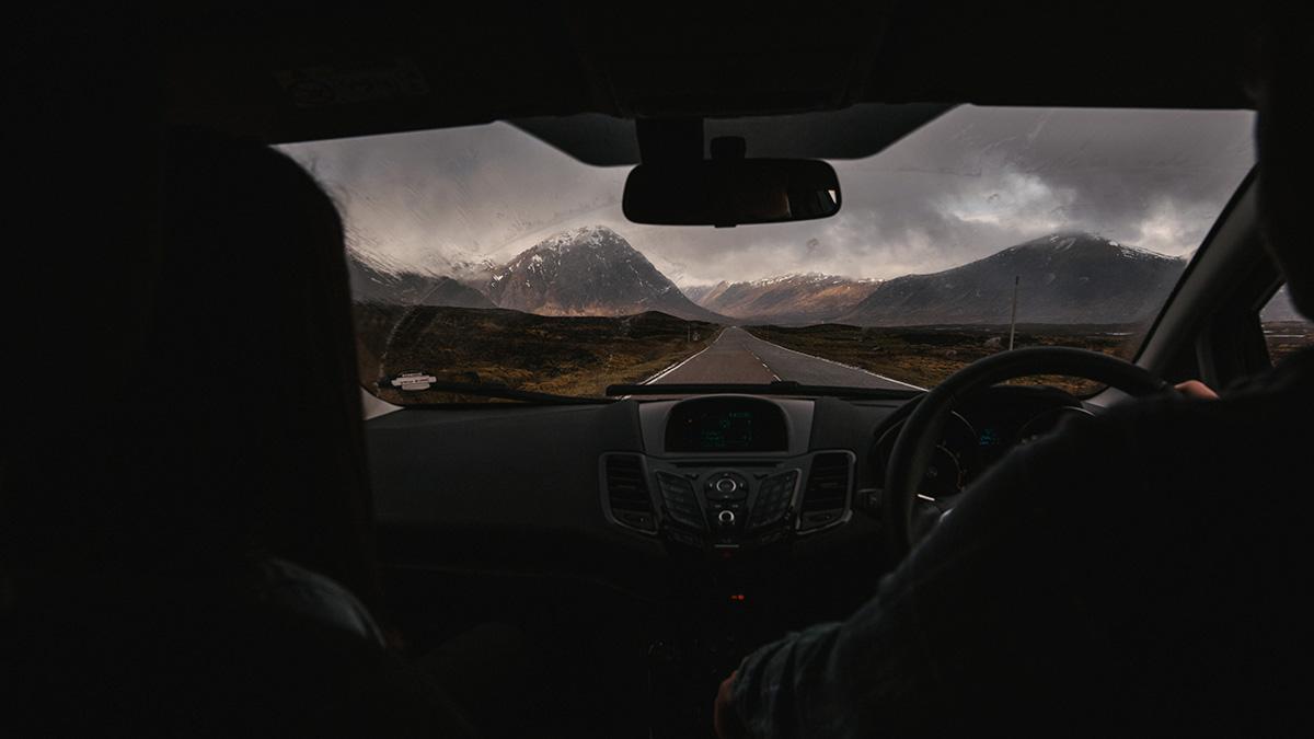 Glencoe pass scenic drive