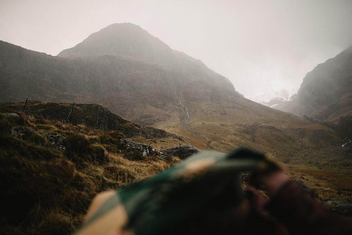 Scottish mountaintop