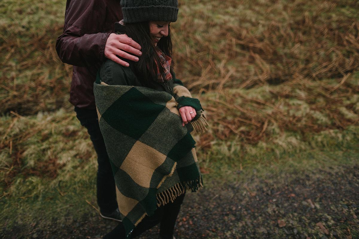 Cold hands, Scottish Highlands