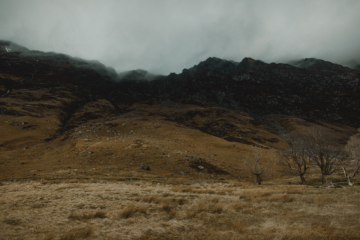 Fog and mist, Glencoe
