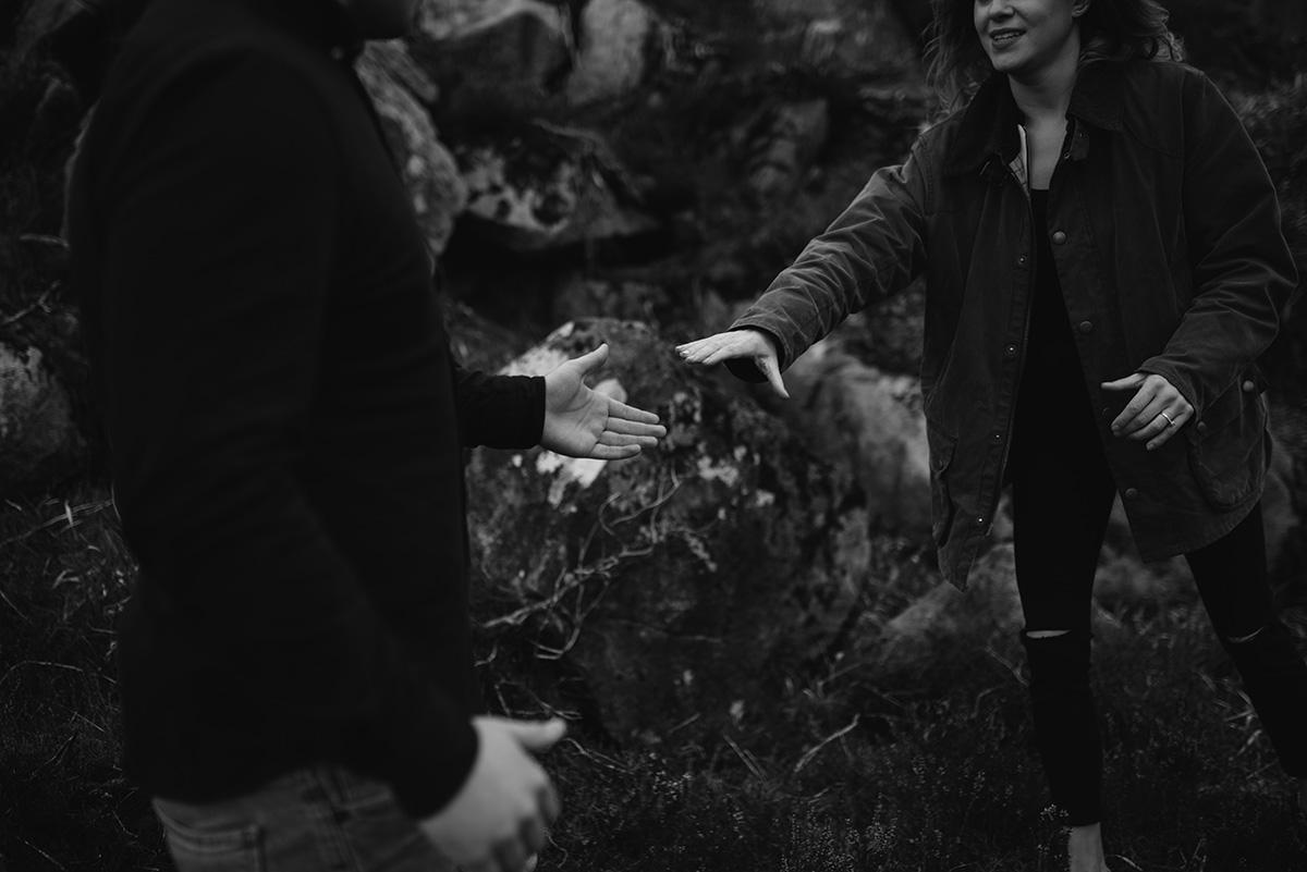 Slieve Gullion engagement shoot