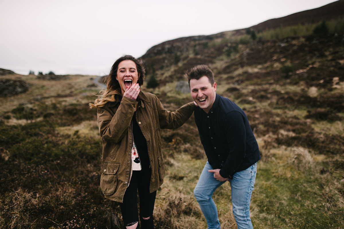 Slieve Gullion, Ireland engagement shoot