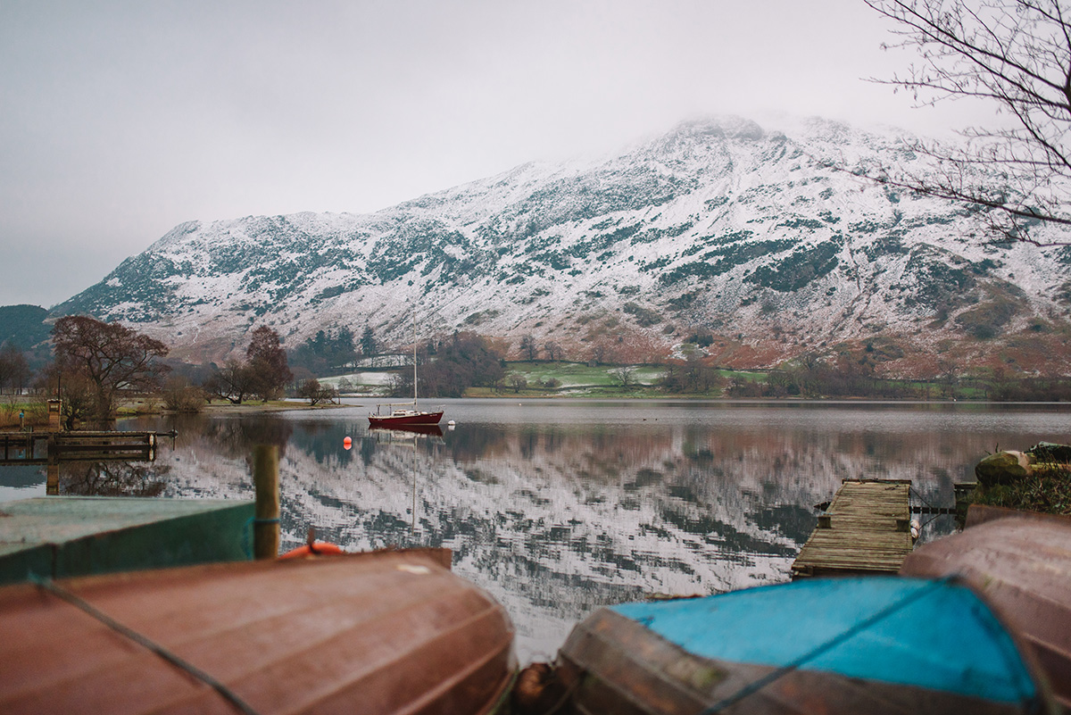Ullswater row boats