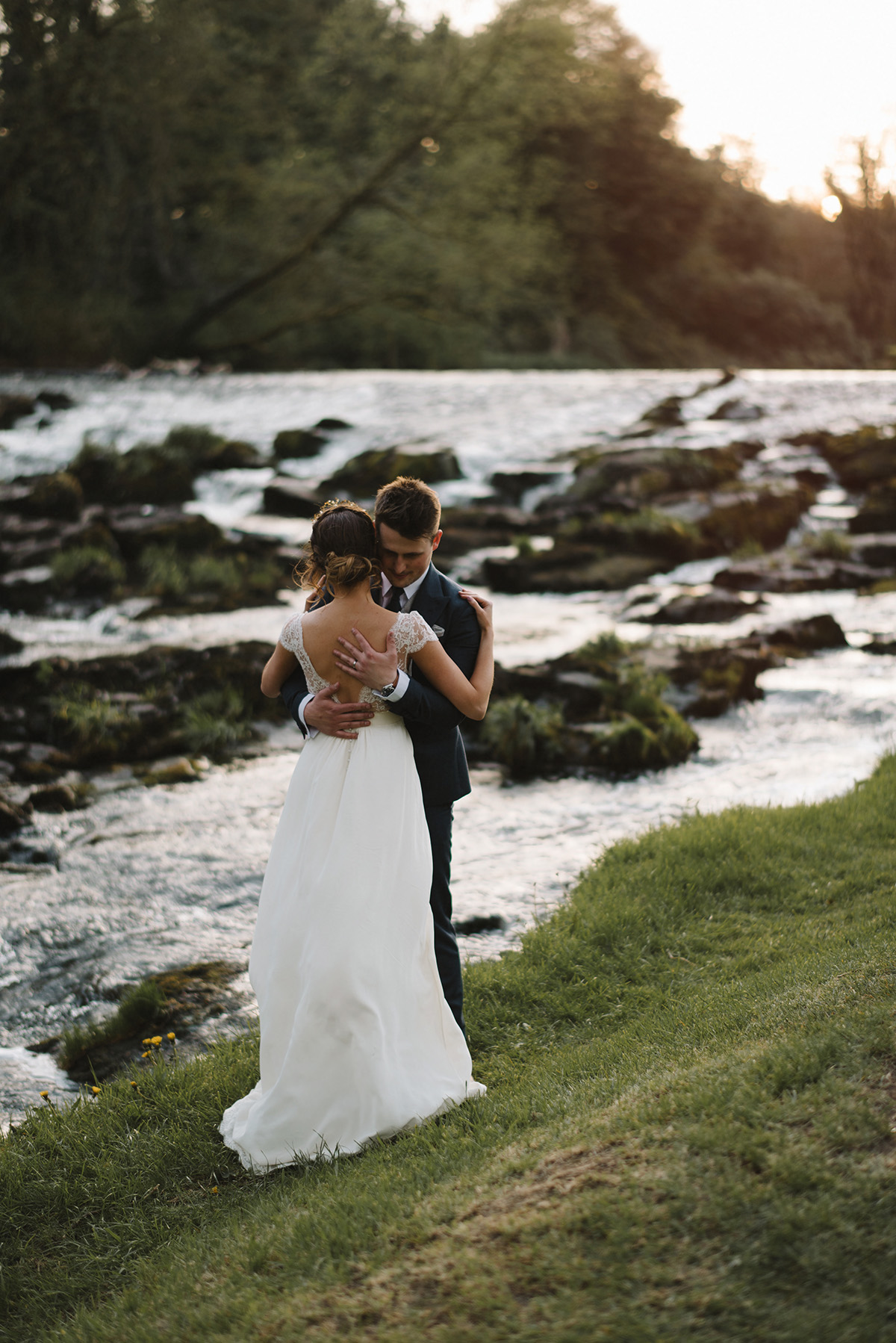 Intimate chic spring wedding | Northern Ireland Creative wedding photographer