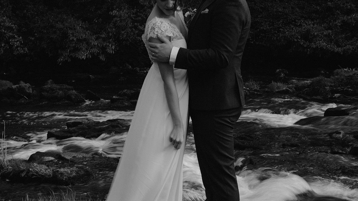 Intimate chic spring wedding | Northern Ireland Alternative wedding photographer