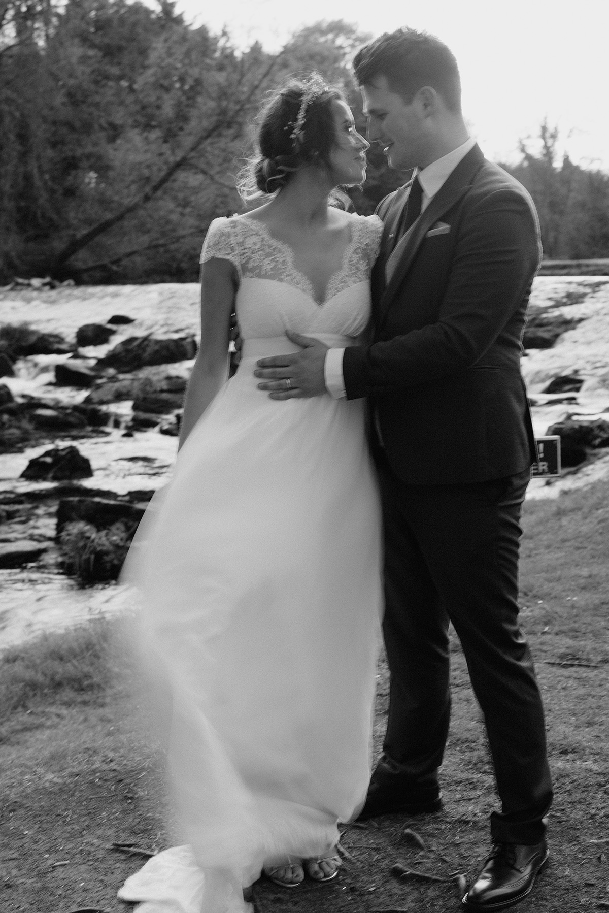 Intimate chic spring wedding | Northern Ireland -