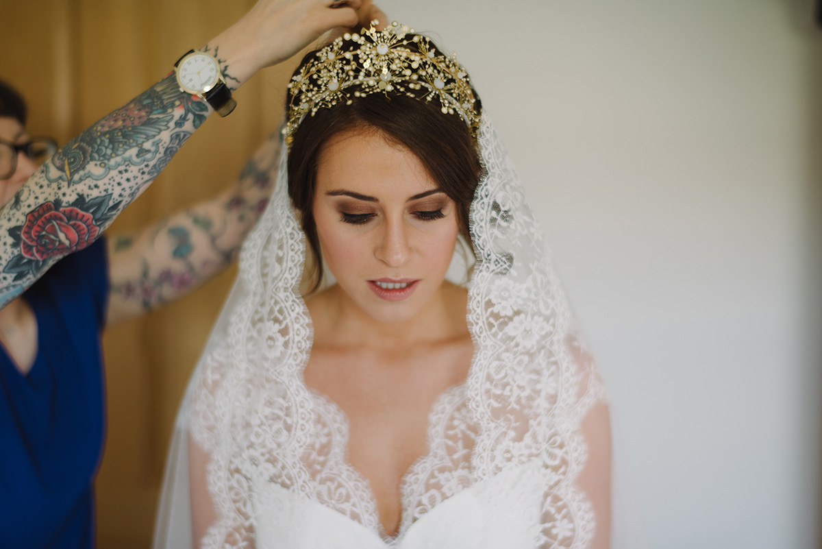 Intimate chic spring wedding | Northern Ireland - Cat + Aaron