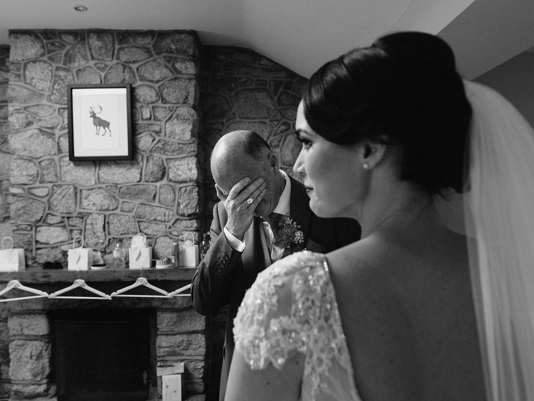 Alternative documentary wedding photographer ireland