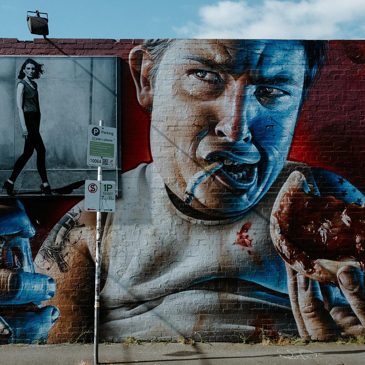 smugone street art graffiti Melbourne