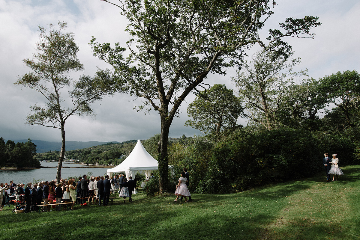 Humanist Wedding Silver Birch House