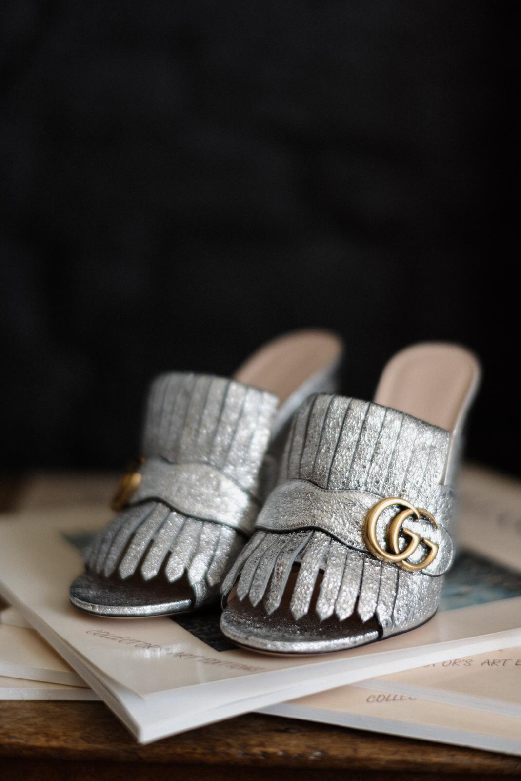 Gucci bridal shoes