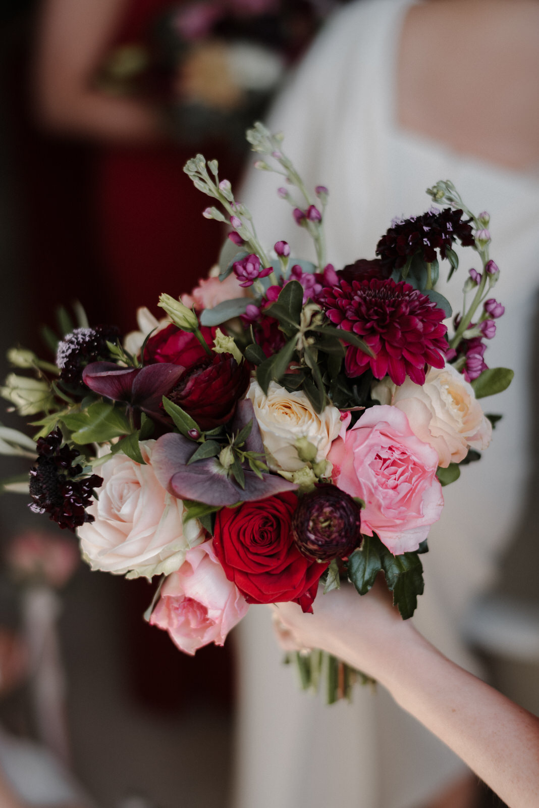 The Rosehip & Berry bridal bouquet